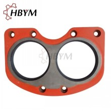 10 Years manufacturer for Concrete Pump Sliding Valve IHI Concrete Pump Tungsten Carbide Wear spectacle Plate export to North Korea Manufacturer