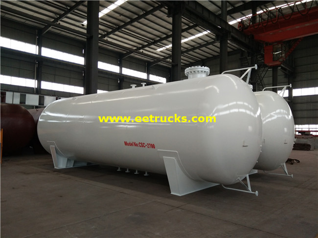 Horizontal 60 M3 LPG Tanks