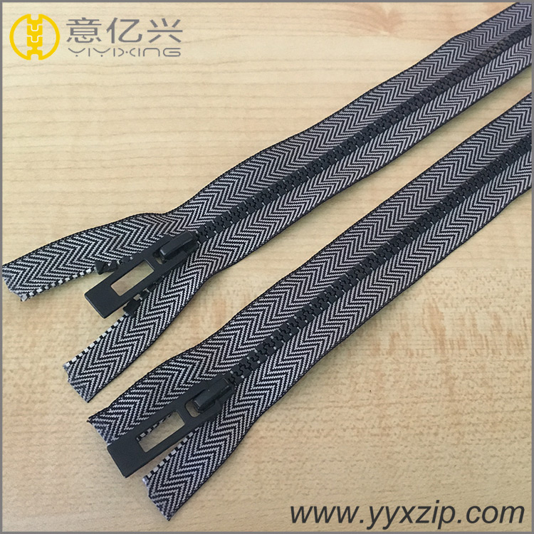 Design Useful Garment Metal Zipper