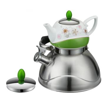 Hot Sell Double Tea Pot Set