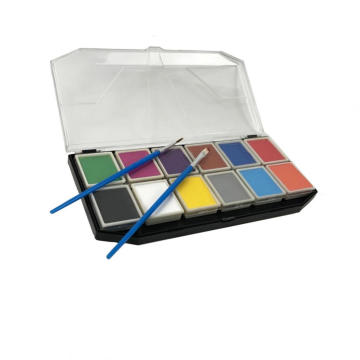 water-base Best  kids face paint palette