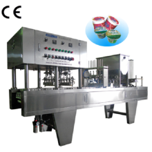 Automatic Water Juice Cup Filling Sealing Machines