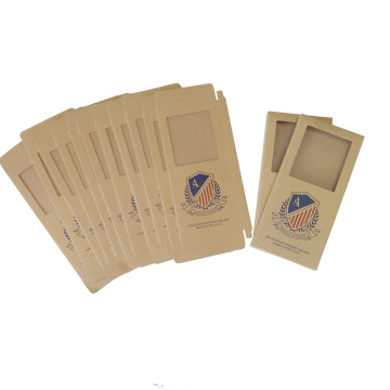 Kraft paper cardboard suitcase shape packaging box