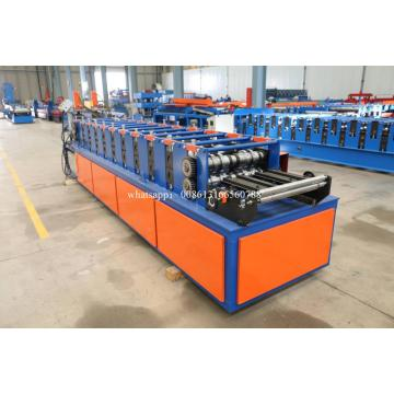 U Channel Purlin Double Line Roll Forming Machine