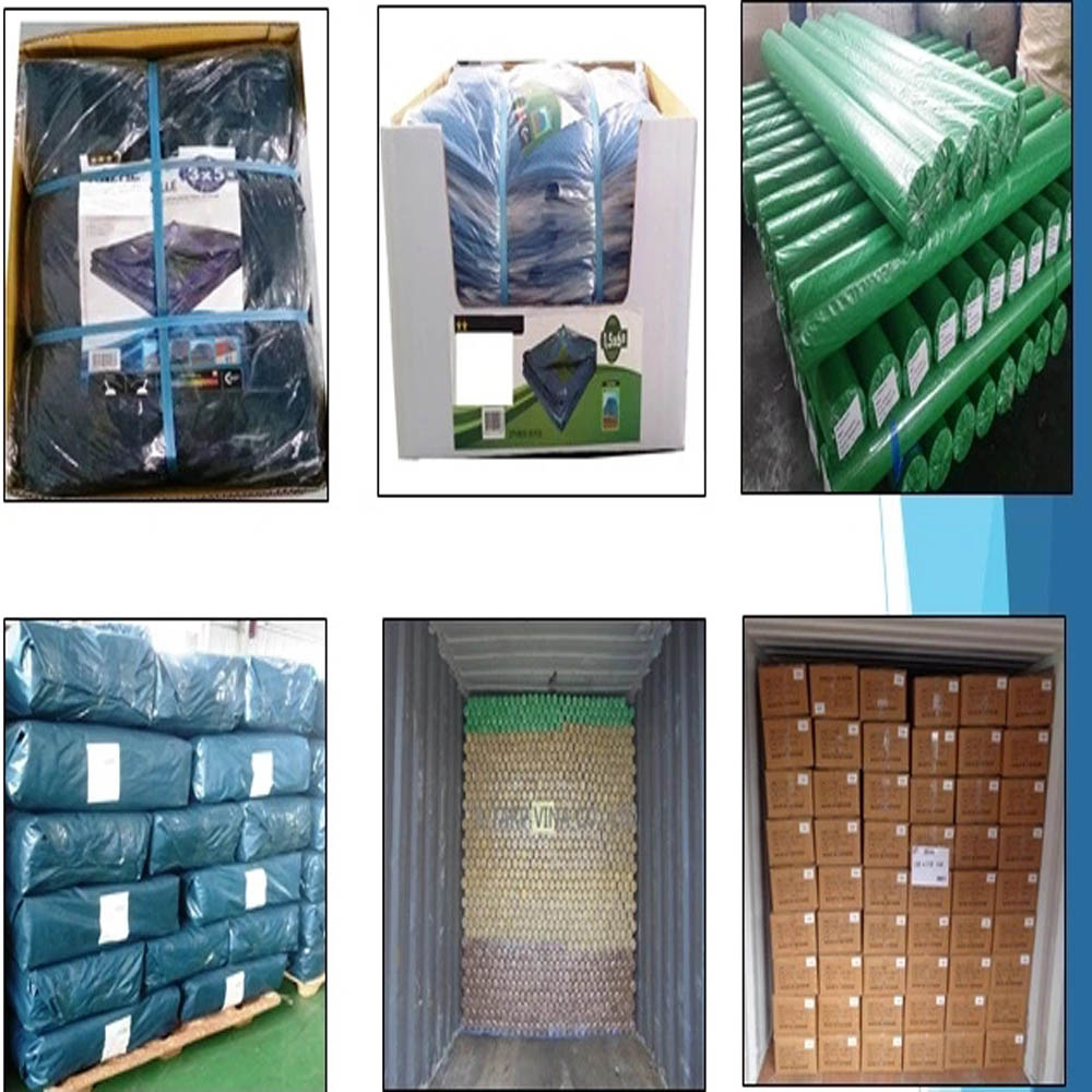 Tarpaulin Packing Delivery