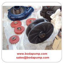 High Quality for Warman Slurry Pump Slurry Pump PU Impeller Parts export to French Guiana Factories