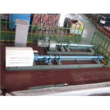 Supercharged horizontal multilevel water injection pump