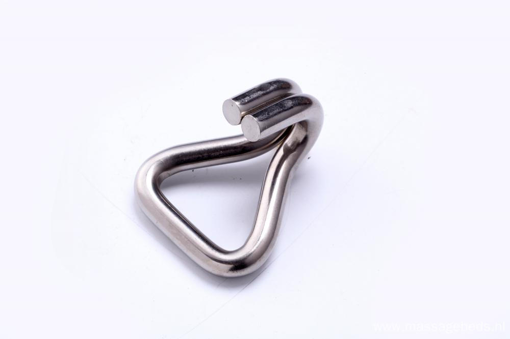 2 Inch 50MM 304 Ratchet Buckle Stainless Steel Double J Hook