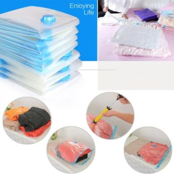 Clothing Withl Vacuum Compressed Organizer Storage Bag