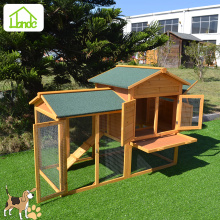 Reasonably designed wooden hen house