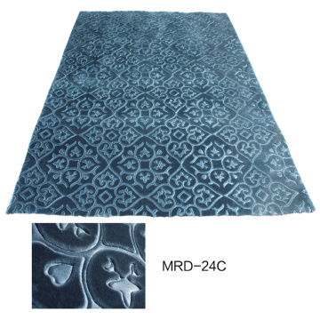Polyester Embossed Design Carpet