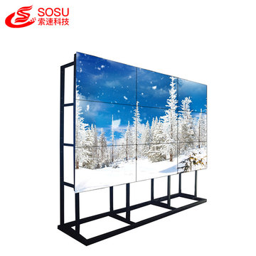 55 inch LCD advertising 4k commercial video wall