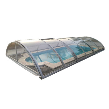 PriceList for for China Swimming Pool Enclosures,Retractable Pool Enclosure,Retractable Swimming Pool Enclosures Manufacturer Swimming Price Uk Cover Telescopic Pool Enclosure export to Saint Vincent and the Grenadines Manufacturers
