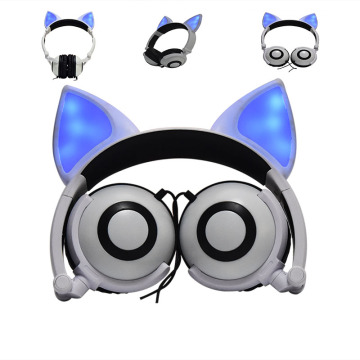Wired Foldable Stereo Headset for girls boys party