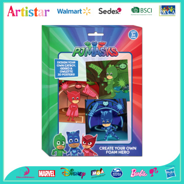 PJ MASKS create your own foam hreo