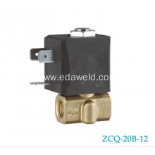 Best Quality for Welding Machines Tube Solenoid Valve Female Mig Welding Machines Connector Gas Valve supply to French Guiana Suppliers