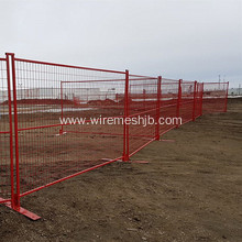 PVC Coated Canada Style Temporary Fence