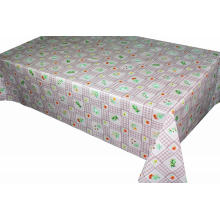 Pvc Printed fitted table covers Cheap