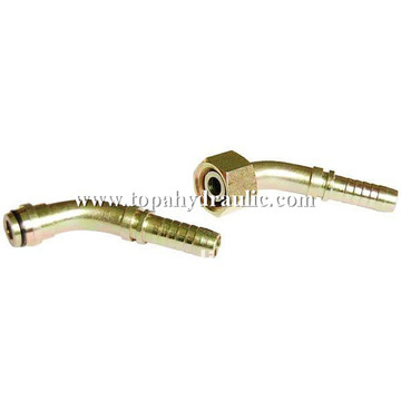 Export european crimp on hydraulic hose fittings