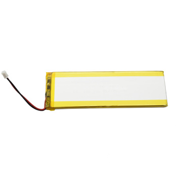Flat rechargeable li-ion 3000mAh slim battery 3.7v