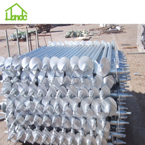 Carbon Steel Screw Pile for Building