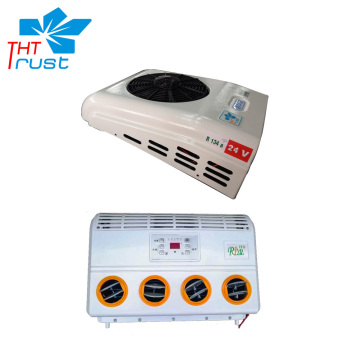Split cabin air conditioner