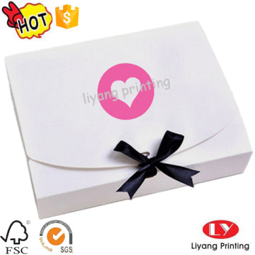 Good quality custom paper flat folding gift boxes