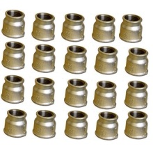 Factory making for Malleable Iron Pipe Fittings Beaded Malleable Iron Reducing Sockets export to France Wholesale