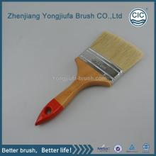Customized for Supply Pure Bristle Paint Brush, Pig Hair Paint Brush, Plastic Handle Bristle Paint Brush from China Supplier pig hair paint brushes export to Tajikistan Factories