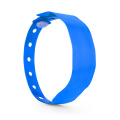 13.56MHz PVC Bracelets One time RFID wristbands
