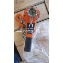 small HSH lever hoist 0.75T