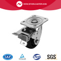 Braked Plate Swivel PA Caster