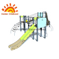 Fantastic Outdoor Playground Kids Facility Climbing