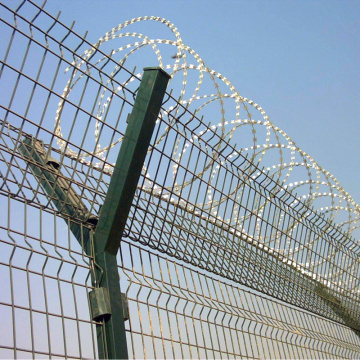 high security airport perimeter protection wire mesh fencing