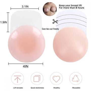 Womens Breast Pasties Petals - Adhesive Bra