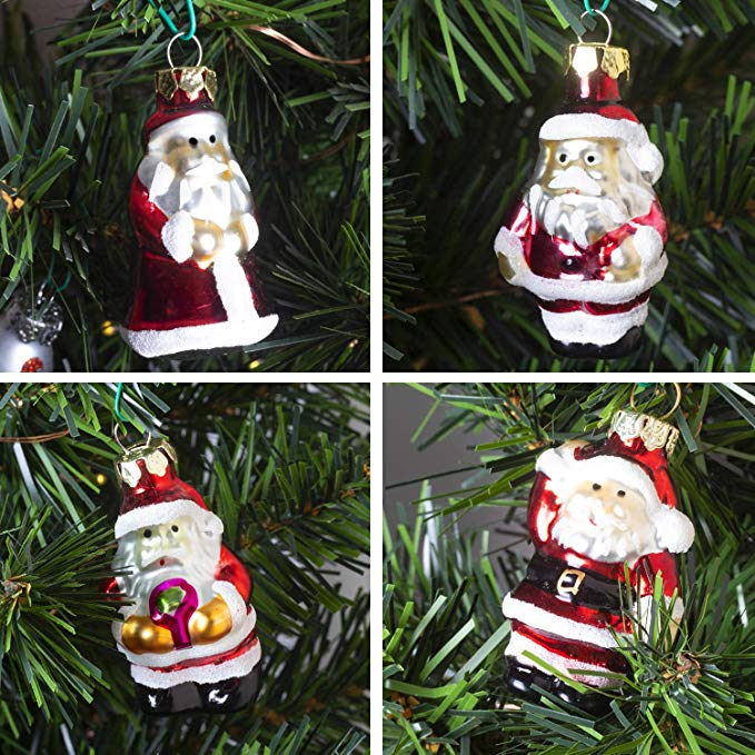 Mini Glass Christmas Ornaments