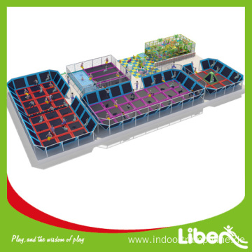 Large indoor best price jumping trampoline for sale