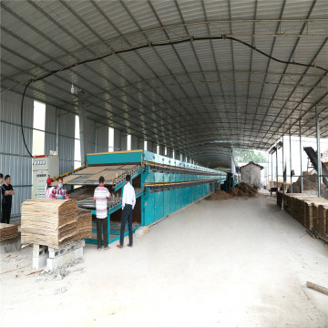 Plywood Hot Press Type Core Veneer Dryer Machine