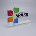 Colorful Corporate Engraved Crystal Awards