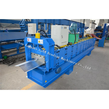 Galvanized Vally Ridge Cap Roof Machine Price