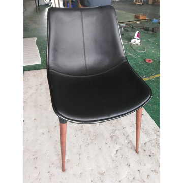 Modloft Langham Dining Chair in Leather