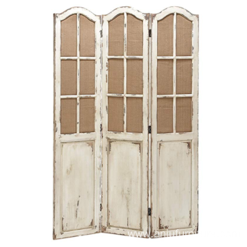 Wholesale vintage wooden screen