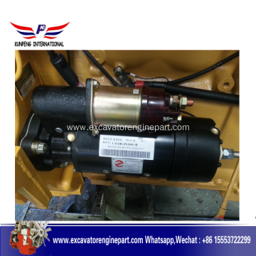 Top for Offer Shangchai Engine Part,Shanghai Diesel,Shangchai Engine From China Manufacturer Shangchai diesel engine parts starter motor 4N3181 supply to Antigua and Barbuda Factory