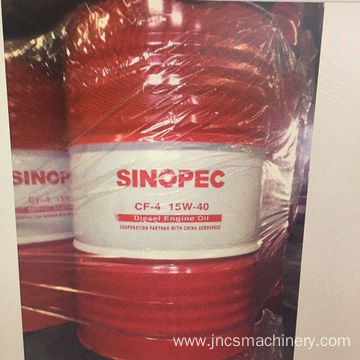 machinery Sinopec diesel engine lubrication oil 15w40