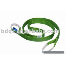 China supplier OEM for Polyester Round Lifting Webbing Sling EB 2t  lfting belt export to Poland Factory