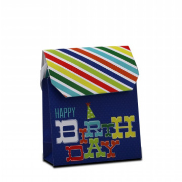 Custom Design Die-Cut Clothes Gift Paper Bags