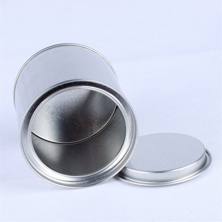 Round Shape Tin can box
