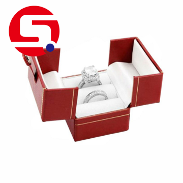 Jewelry ring logo printed boxes display wholesale