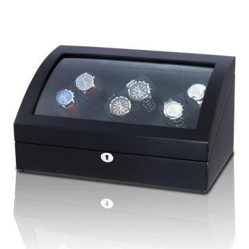 treple rotors watch winder with led light