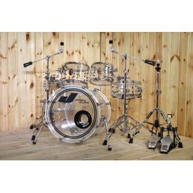 Acrylic 5 Pieces Jazz Drum Set
